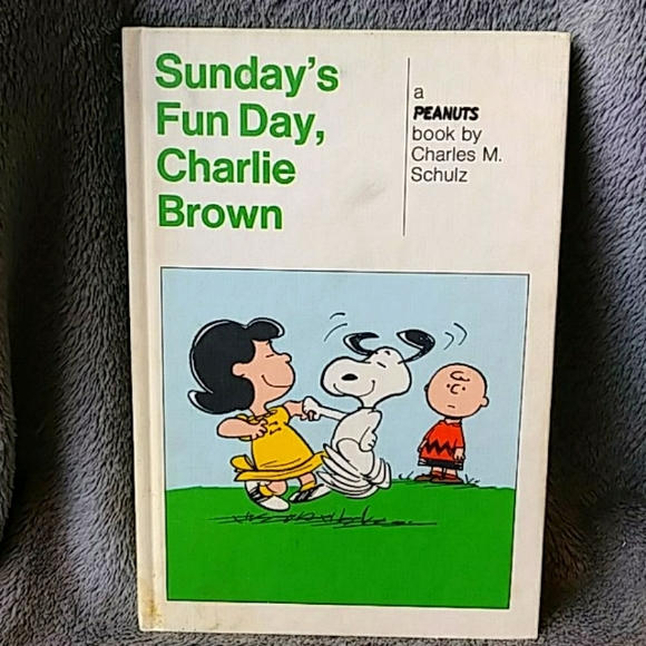 Vintage 1965 Sunday's Fun Day, Charlie Brown Book